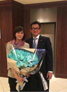 三浦りさ子 カズとの2ショット披露「50歳 凄すぎます」