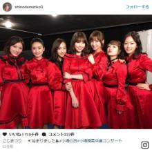 篠田麻里子、小嶋陽菜らと元祖神7ショット公開に反響「これぞAKB!」