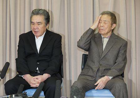 船村徹さん「空から見守って」=弟子の北島三郎さん、鳥羽一郎さん