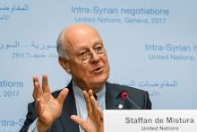 シリア和平協議再開=実質交渉の機運探る-国連