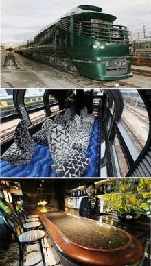 豪華寝台列車「瑞風」お披露目=走る高級ホテル-JR西日本