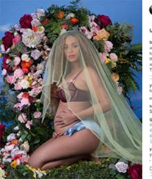 女王ビヨンセ、妊娠インスタで〈いいね!〉世界新記録