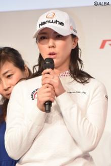 噂の8頭身韓流美女ユン・チェヨン、日本参戦は「楽しみと不安が半々」