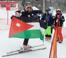 ヨルダン女性、充実の初舞台=アルペン女子-冬季アジア大会