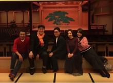 東山紀之 能舞台がある凄い店で薬丸裕英の誕生日会開催