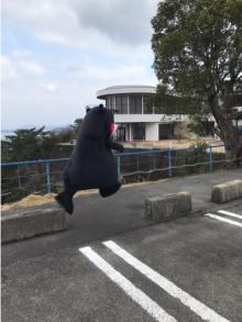 杉浦太陽 くまモンが飛ぶ写真公開「お茶目さ全開!」と感嘆