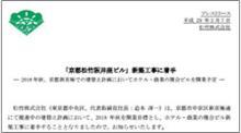 松竹、創業の地をホテルに 京都「阪井座」物語