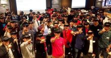 渋谷の一室にHoloLens80台が大集結! 仮想空間を共有できるシェアリング機能にゲームの未来を見た