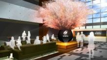 世界的プラントハンターがヱビスラウンジの桜をプロデュース