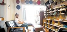 こだわり部屋FILE 【インテリア事例】シューズと帽子で彩るコレクションROOM