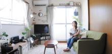 こだわり部屋FILE 【インテリア事例】猫と暮らす光溢れる大人女子空間