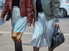 ロングスカートは遊び心がつまってる。裾をゆらして歩きたい