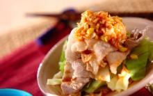 野菜をモリモリ食べられる! 春キャベツと薄切り豚肉の中華和え