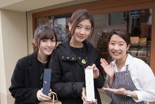 熊井友理奈 & 鈴木愛理の抹茶ーずが「京くみひも」の魅力を紹介した動画公開 カフェで食レポする二人の姿も