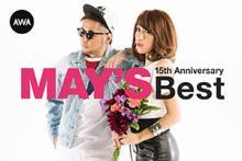 MAY'S、「MAY'S 15th Anniversary BEST[AWA Edition]」をAWAで独占配信