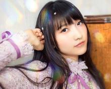山崎エリイ、4/19発売1stシングル『十代交響曲』のアーティスト写真が公開  本人作詞曲タイトルも決定