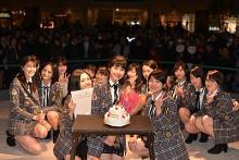 『べっぴんさん』さくら役 井頭愛海のサプライズ生誕祭も 「X21」アルバム発売記念イベント