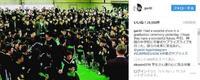 GACKT、静岡の中学校で恒例の卒業式サプライズライブ 「あっという間に11年が経ってる」