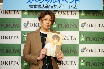 東啓介「夢のようです」初写真集イベントにファン1000人!