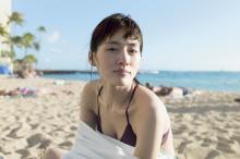 綾瀬はるか、最新写真集で野生児に戻る 貴重な水着姿も披露