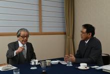 筒井康隆氏「これからの人生はニュースを見て過ごす(笑い)」