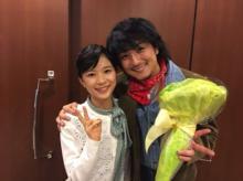 芳根京子 上地雄輔とNHK朝ドラ共演で感謝「とても心強かった」