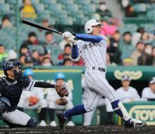 山下、24本目の満塁本塁打=高校野球・健大高崎
