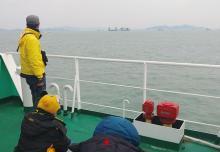 セウォル号引き揚げ開始=海底から1メートル浮上-韓国
