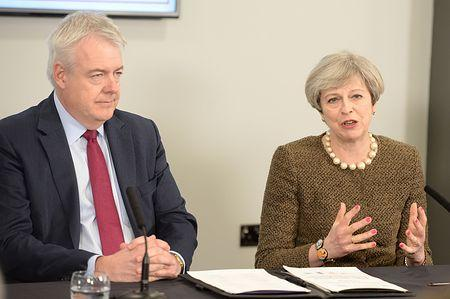 29日にEU離脱通告=原則2年の交渉開始へ-英首相