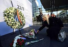 ベルギーテロ1年で追悼式典