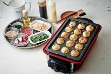 本格BBQ が楽しめる「Home BBQ(ホームバーベキュー)」から新オプションパーツ「たこ焼きプレート」の発売が決定!