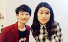 横澤夏子 松田凌と顔交換し反響「すっごいイケメンになってる」