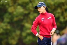 8頭身美女ゴルファーがついに実力発揮 目標は米31勝のレジェンド