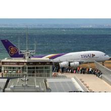 A380が追ってくる! フォローミーカーから見たタイ国際航空機の動画公開