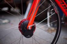 電動アシスト…ではなく電動レジスト自転車…モーターの力で平地を坂道にする「AIRhub」