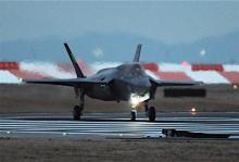 米F35B、精密爆撃訓練か=韓国