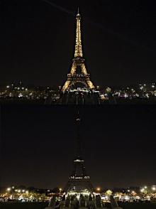 世界各地で消灯=「アースアワー」