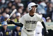 報徳学園が8強入り=高校野球