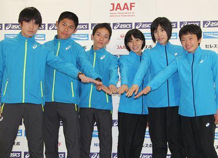 安藤「積極的に走る」=メダル狙う川内-世界選手権マラソン代表