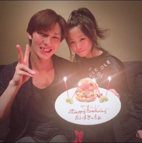 新垣理沙、夫・小谷嘉一の35歳誕生日を大好きな店で祝う