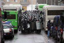 デモ試みた「千人」拘束=「寄生税」に反発-ベラルーシ