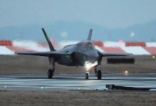 米F35B、精密爆撃訓練か=北朝鮮に「警告」-韓国