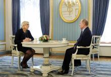 ルペン氏、ロシアに接近=仏政府、選挙への介入警戒