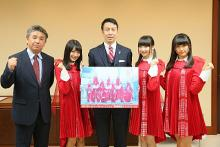 NGT48が県知事と市長にメジャーデビューを報告 デビュー日に新潟でイベント開催も発表