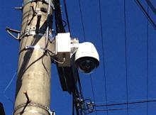 無線で防犯カメラ映像取得