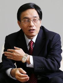 シャープ・載正呉社長 判断が明確で軽率な発言をしない人物