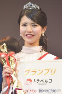 日本一美しい女子大生が決定!立命館大学の松田有紗さんが栄冠<Miss of Miss 2017>