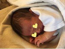 後藤真希 あくびをする生後3日目の息子公開「しわくちゃ」