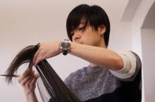 『ひとは見た目が100パーセント』イケメン美容師役・成田凌の撮影シーンを公開