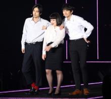 【TGC2017SS】ブルゾンちえみが初ランウェイ、成田凌らと「with B」結成